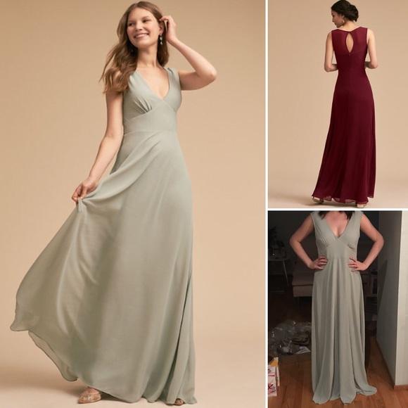 3bc233ec32c Jenny Yoo Capulet dress in Morning Mist